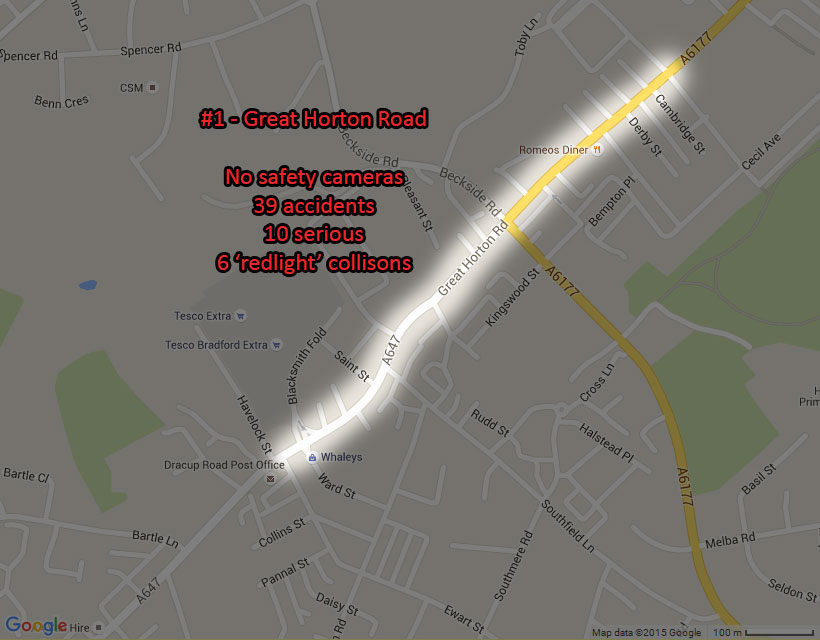 Bradfords most dangerous roads what do they teach us 1 great horton road great horton solutioingenieria Gallery