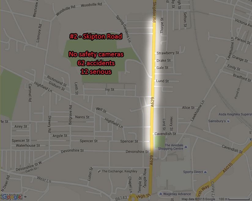Bradfords most dangerous roads what do they teach us 2 skipton road north street keighley solutioingenieria Gallery