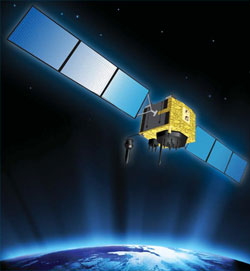 The GPS 2F satellite