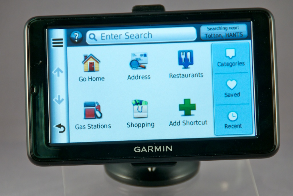 Garmin new range of nuvi SatNavs