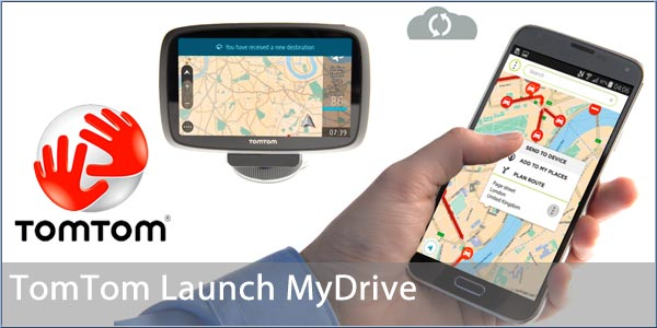 tomtom launches mydrive to link to satnavs. Black Bedroom Furniture Sets. Home Design Ideas