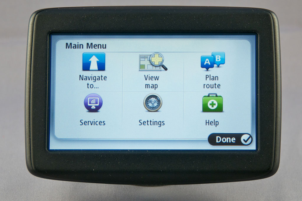 Tomtom my getting started