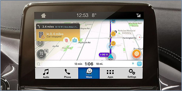 waze arrives on ford sync 3 equipped cars. Black Bedroom Furniture Sets. Home Design Ideas