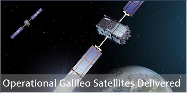 Operational Galileo Satellites Delivered To Kourou