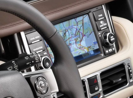 Range Rover 2010 Driver View