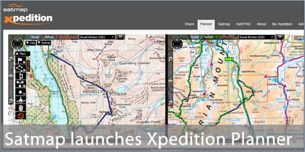 Satmap launch xpedition online route planning application pocketgpsworld gumiabroncs Image collections
