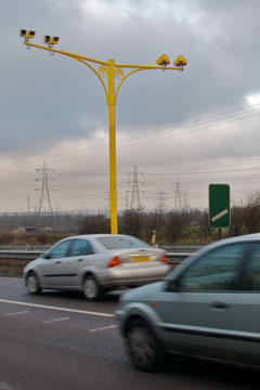 SPECs speed cameras on the A127