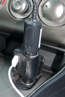 The TomTom High Speed Multi-Charger connections