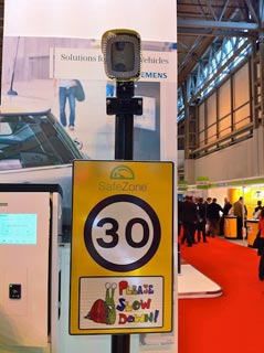 Traffex 2011 speed camera expo