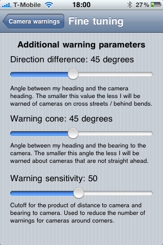 CamerAlert - Speed Camera Warnings for iPhone