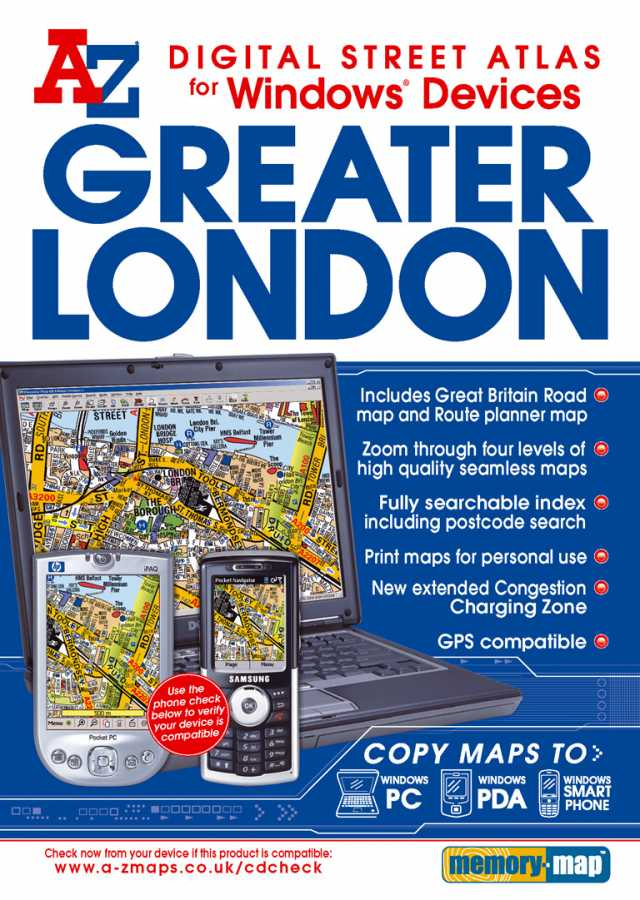 AtoZ Greater London Maps