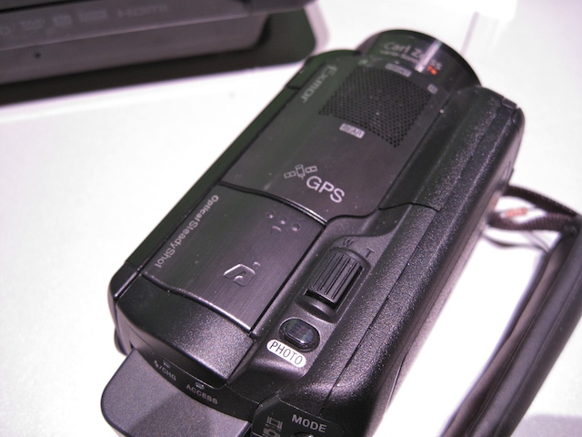 The Sony HDR-XR500V GPS Camcorder