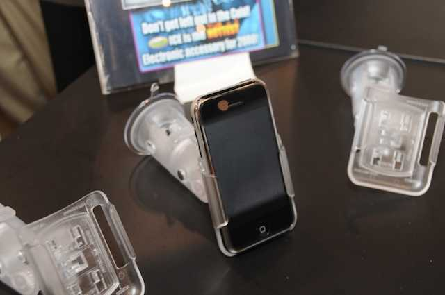 The new HR ICE Mount for the iPhone