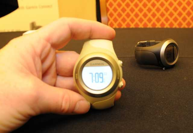 The new Garmin Forerunner 405