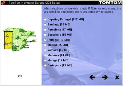 TomTom Navigator European Maps
