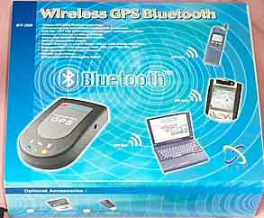 The GlobalSat BT308 Bluetooth GPS receiver