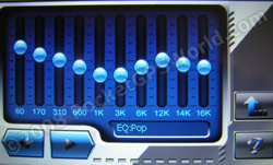 Audio Player EQ