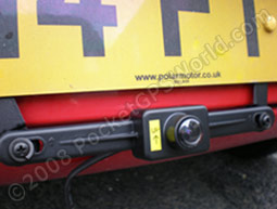 Rear-View Camera in Place