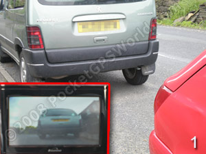 Rear-View Camera In Action pt1