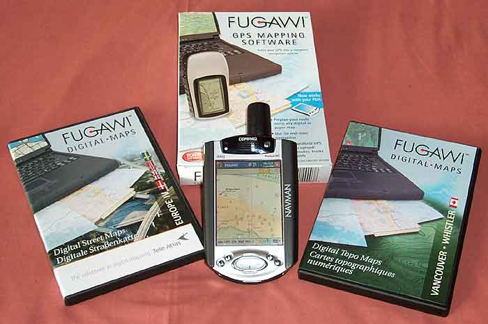 Fugawi GPS Mapping Software for Windows