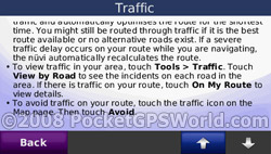 Help Page for Traffic