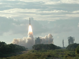 GPS Satellite launch on a Delta2 rocket
