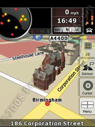 3D Buildings in Birmingham
