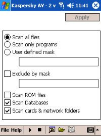 Scan Options