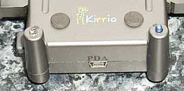 The base of the Kirrio Palm PDA holder