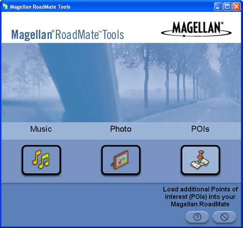 how to upgrade a magellan gps with a download