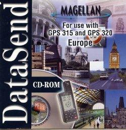 mapsend streets europe