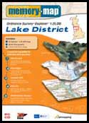 Memory-Map 2004 Ordnance Survey Lake District mapping software.