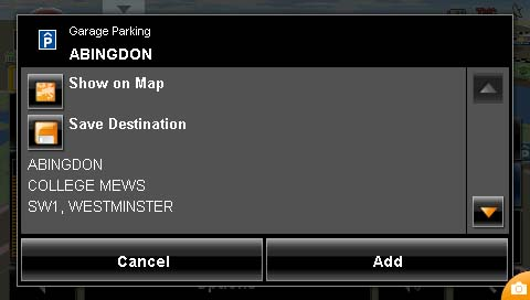 Parking Options