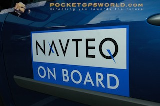 Onboard the Navteq survey car discovering how maps are made