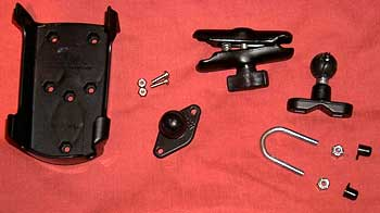 Ram U-Bolt mount kit of parts