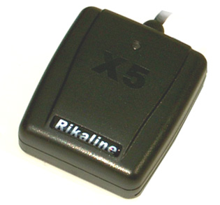 The Rikaline 6020 X5 mouse GPS receiver.