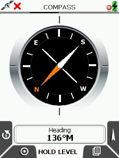 Active 10 Compass Screen