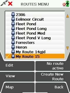 Active 10 Route Created