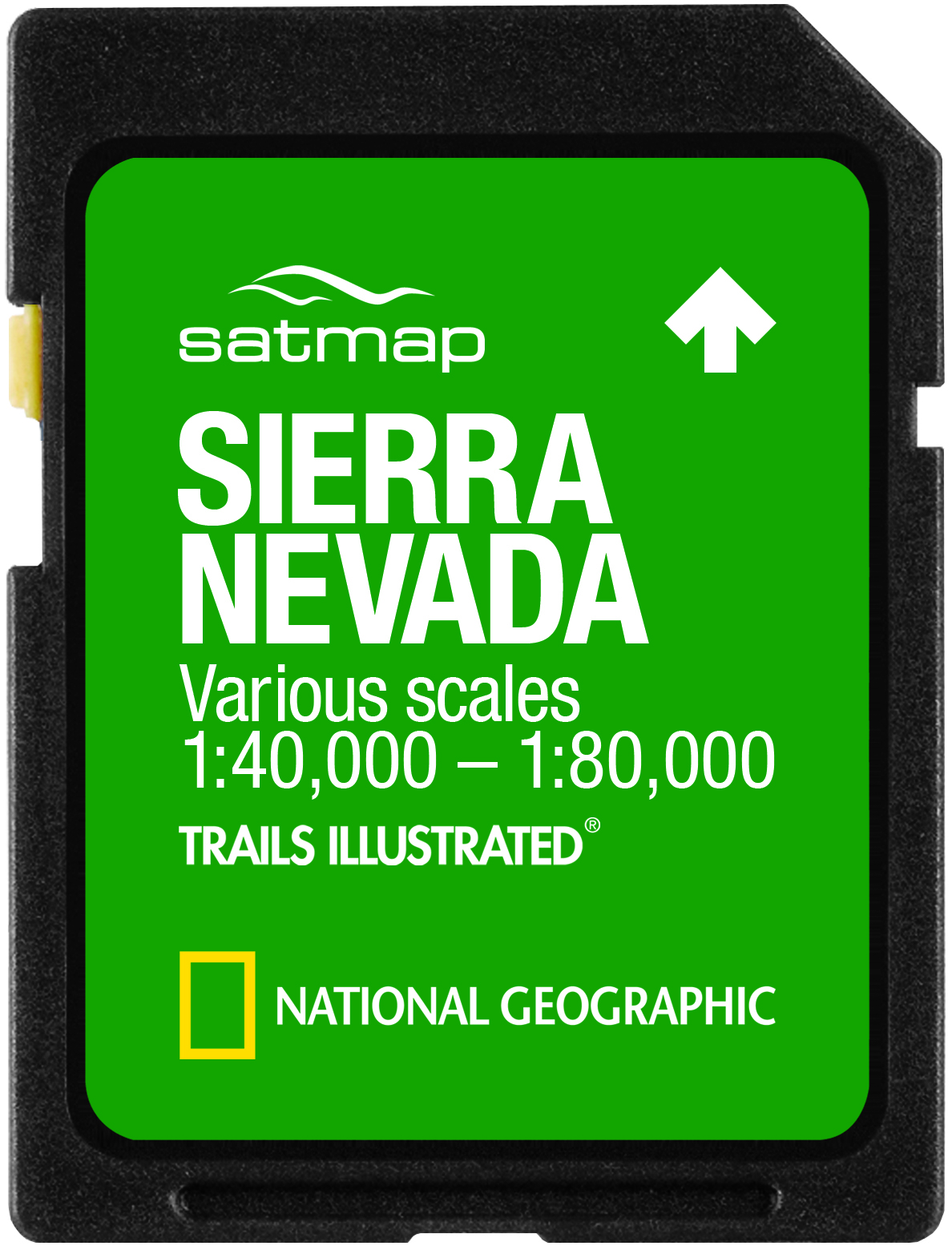 SD Card Sierra nevada