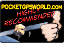 PocketGPSWorld Seal of Approval - Thumbs Up Reccomended