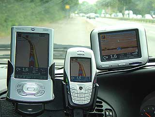 TomTom GPS navigation POI warning
