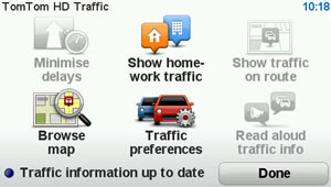 HDTraffic Menu