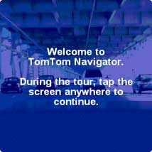 Click here for the TomTom Navigator for Palm feature tour