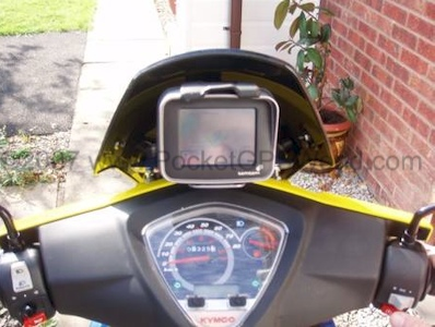 All fitted, riders view