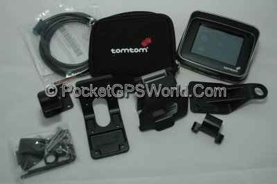 TomTom RIDER Box Contents