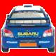 Subary WRX Rally Car Cursor