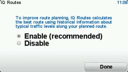 IQ Routes Page
