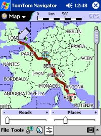 Major Roads of Europe