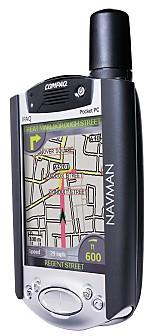 iPAQ with Navman 3000 sleeve
