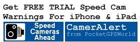 Get Speed Camera Warnings For iPhone